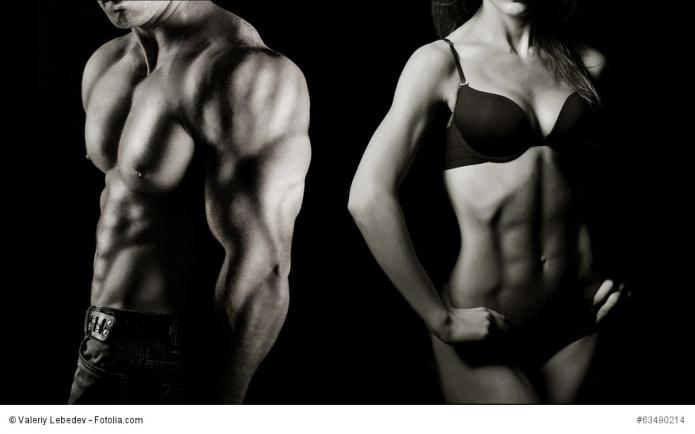 Durchtrainierter Korper Frau Bodybuilding Trainingsplane Fur